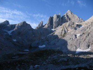 Góry Kantabryjskie, Torre de Cerredo 2648 m n.p.m.